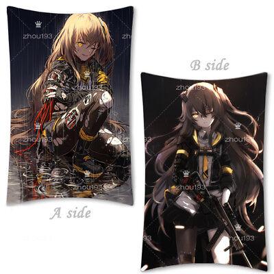 Pillow Case Anime Girls Frontline HK416 UMP45 404 Cover Dakimakura 35×55cm #N12
