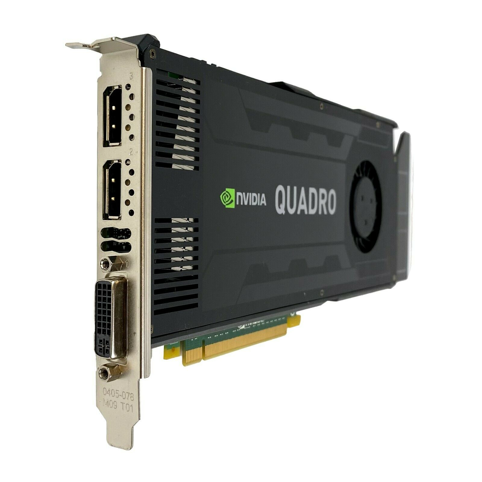K4000 Nvidia Quadro 3GB GDDR5 PCI Express 2.0 x16 Video Graphics Card