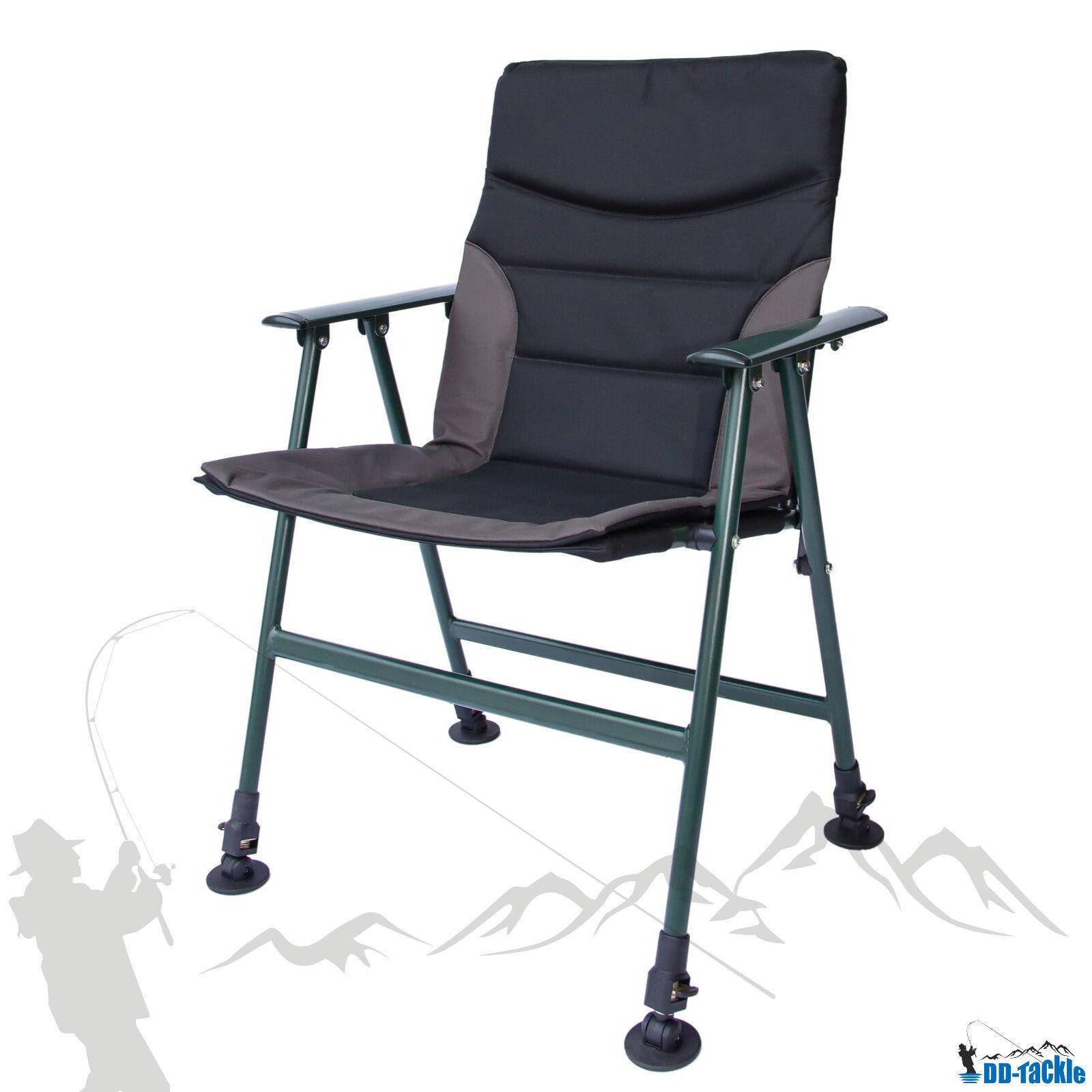 NUOVO Relax XL CARP Chair LUSSO carpa sedia BRACCIOLI Angel sedia Sedia Carpa