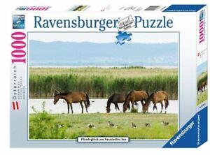 PFERDEGLÜCK AM NEUSIEDLER SEE - Ravensburger Puzzle 89340 - 1000 Teile Pcs.