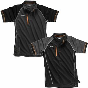 Scruffs-Active-Polo-T-Shirt-a-Manches-Courtes-WORKWEAR-Travail-Haut-Homme-Taille-S-2XL