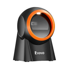 Eyoyo Hands Free Qr Desktop Barcode Scanner For Warehouse Supermarket Pos System