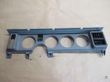 90-92 Firebird Trans Am Instrument Cluster Dash Gauge Bezel Trim Plate 0207-12