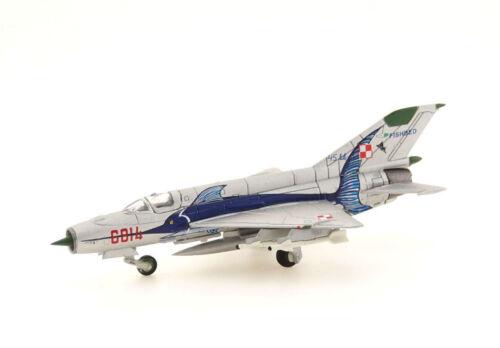 Herpa 1:200-552363 NEU Polish Air Force Mikoyan MiG-21MF OVP