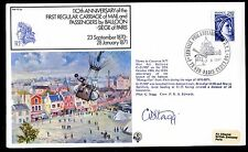 Frankreich RAF FF25 110th Anniversary of the First Regular Carriage Mail Balloon