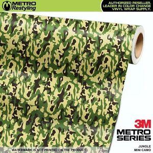 MINI METRO GREEN Camouflage Vinyl Vehicle Car Wrap Camo Film Sheet Roll Adhesive
