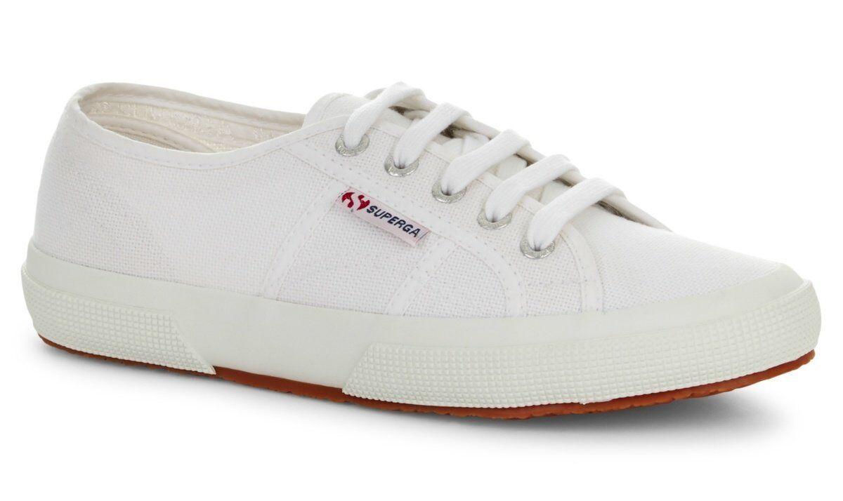 Superga 2750 COTU Classic (WEISS) Schuhe  Official UK Superga Stockist
