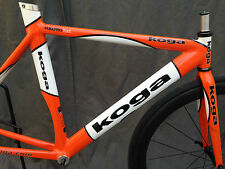 KOGA `s  famous scandium FULLPRO Track frame set c-t 53 / c-c 47 good condition