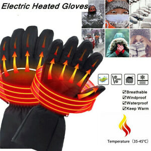 Wasserdicht-Beheizbare-Handschuhe-Akku-Beheizten-Winterhandschuhe-Warmawear-NEU