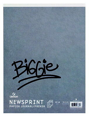 Canson Biggie Newsprint Pad, 18 x 24 Inches, 100 Sheets