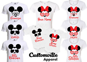 Mom-Daddy-Brother-Sis-mickey-Family-Matching-T-shirts-disney-Trip-Vacation-shirt