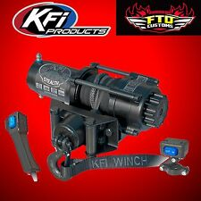 KFI SE35 Stealth 3500lb Winch Kit with Synthetic Cable Yamaha ATV SE35