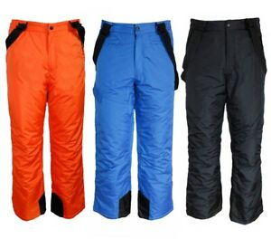 Chicos Pantalones De Esqui Para Nieve Snowboard Invierno Pantalon Termicos Ebay