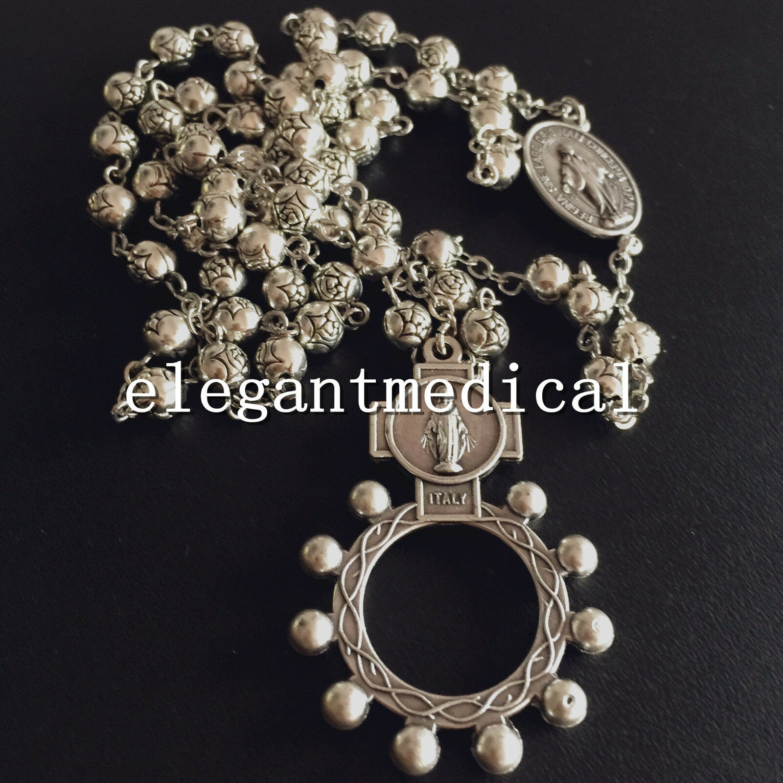 Ave Maria Rosary Ring