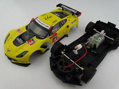 """03/"""" Carrera Digital 132 30701 Chevrolet Corvette C7.R /""""No Karosserie Chassis"""