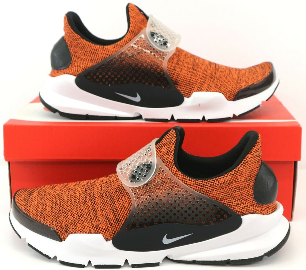 new style d9cc4 58016 ... france nike sock dart se terra orange noir baskets blanc course gym  baskets baskets noir uk
