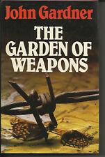 John Gardner The Garden of Weapons h/b spy suspense thriller BCA edition 1981