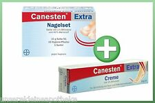 CANESTEN extra Nagelset + CANESTEN extra Bifonazol Creme 20g  PZN: 619053+679612
