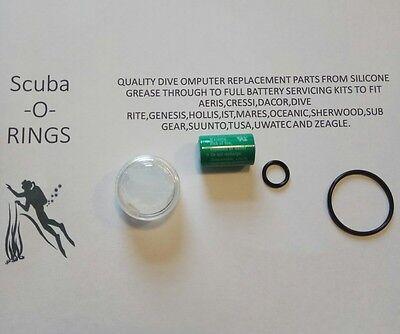 NEW Battery Kit For Suunto D9 D6i /& D4i Transmitter