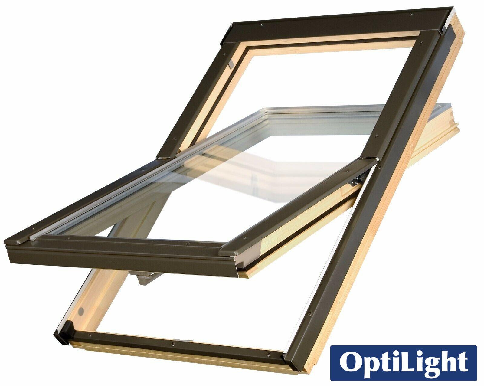 Optilight Pine Roof Window Centre Pivot Flashing Kit Loft Skylight Rooflight