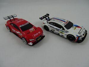 Carrera-Go-61272-BMW-M3-M-Tomczyk-64042-Audi-A5-DTM-M-Molina-Neu