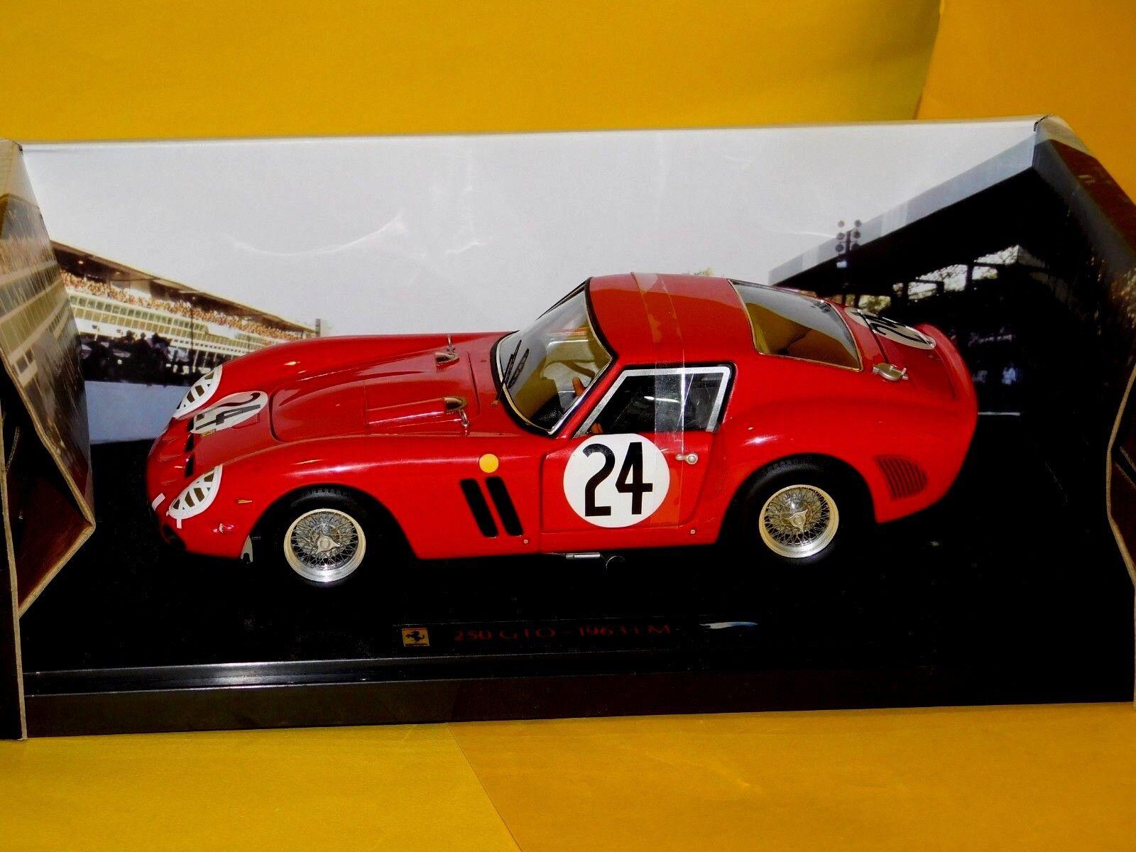 Ferrari 250 GTO Le Mans 1963 rosso Elite N2070 1 18
