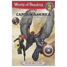 Captain America: The Winter Soldier: Falcon Takes Flight (World of Reading) - Li