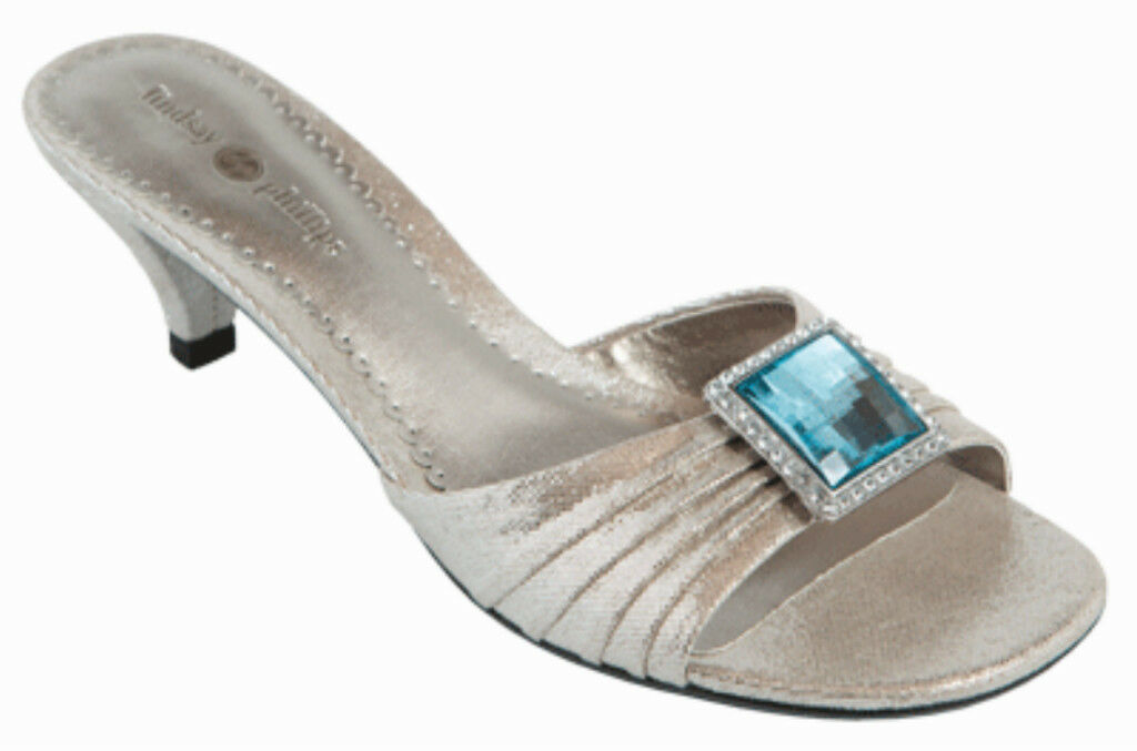 MONTANA WEST SE16-S002 Red Bling Bling Concho Sandals Flip Flops