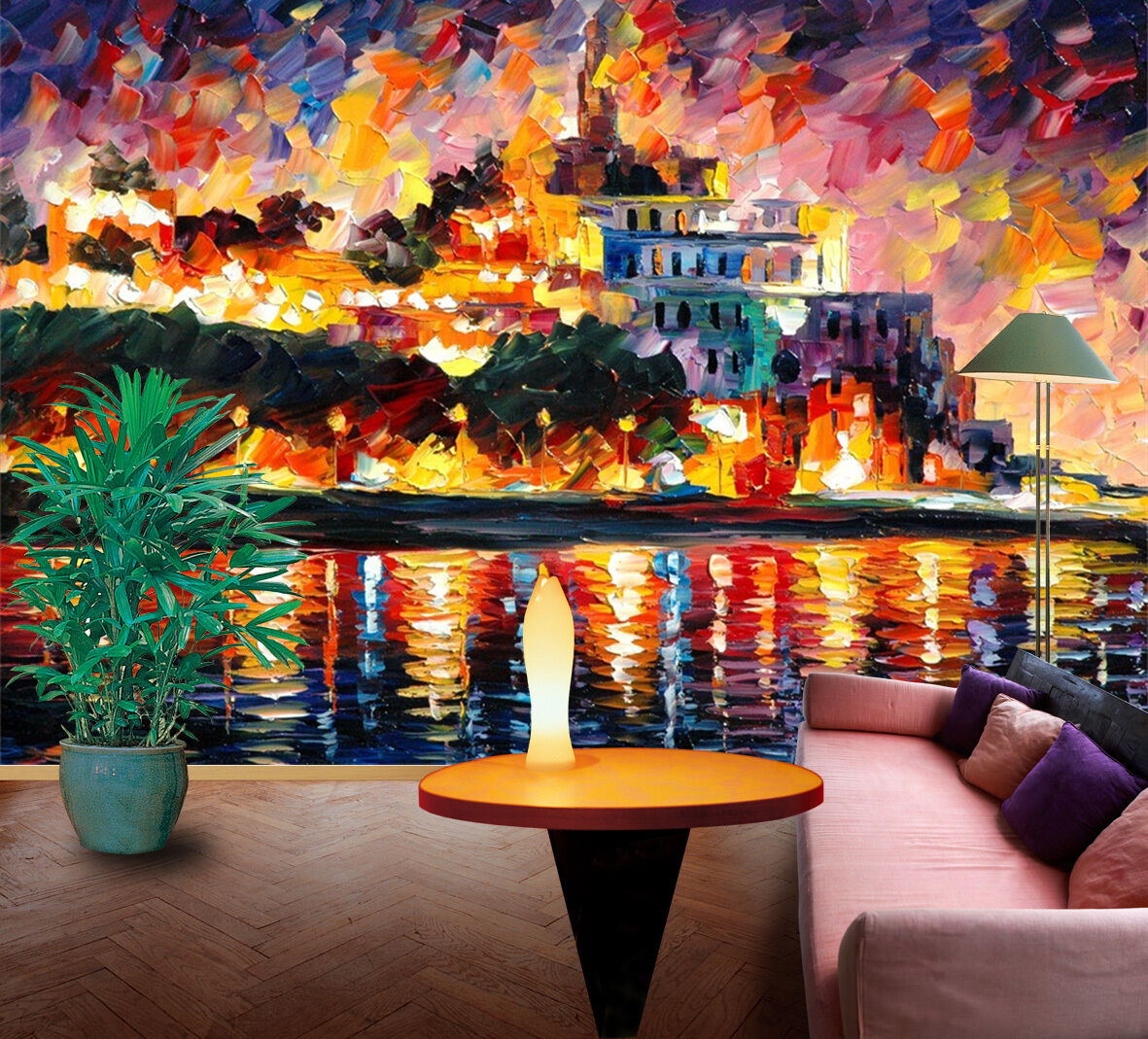 3D Oil Painting Island 1797 Paper Wall Print Wall Decal Wall Deco Indoor Murals