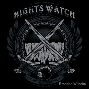 Night Watch Logo Game Of Thrones