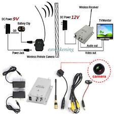 Mini Wireless TV System Nanny Micro Camera Transmitter Wifi Receiver Full Kit EA