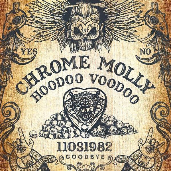 Chrome Molly Hoodoo Voodoo (2017) 10-track CD Álbum Nuevo/Unplayed