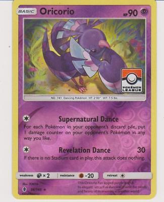 Oricorio SM19 Guardians Rising Pre-Release NM Pokemon Card Holo Rare