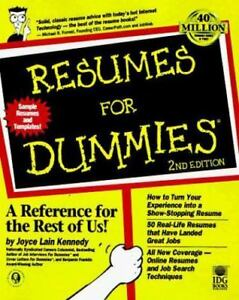 374 - Resumes For Dummies