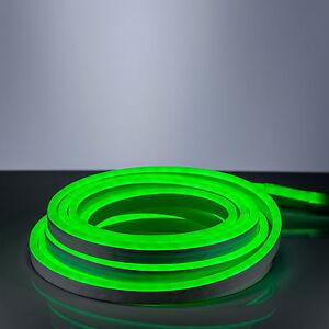 LED-Neon-Flex-220V-EC-gruen-6m-Lichtband-LED-Lichtschlauch-Innen-Aussen-Zuleitung
