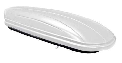 Galerie Tema pour Mercedes A-Classe w168 97-04 ALU Coffre de toit blanc vdpmaa 320 L
