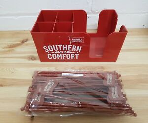 Southern-Comfort-SOCO-bar-top-caddy-plus-50-x-Stirrers-New