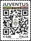 # ITALIA ITALY - 2015 - Juventus Winner - Sport Calcio Soccer Football Stamp MNH