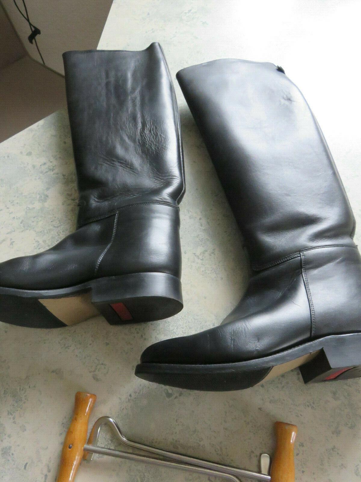 Reitstiefel Cavallo (Kleidur), Leder schwarz, sehr guter Zustand, Gr. 37 (4 1 2)