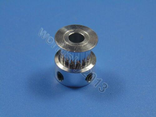 5//6.35mm 2GT18 3D Printer Synchronous Timing Belt Pulley Gear Wheel Sprocket