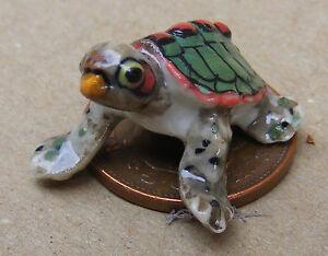 1:12 TARTARUGA SCALA Casa delle Bambole Miniatura Accessorio Giardino Pet