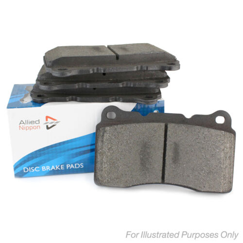 Skoda Octavia 1Z5 1.6 TDi 17mm Thick Genuine Allied Nippon Rear Brake Pads Set