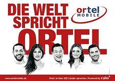Ortelmobile Ortel Mobile SIM-Karten - ab 1 cent ins Ausland telefonieren Nano