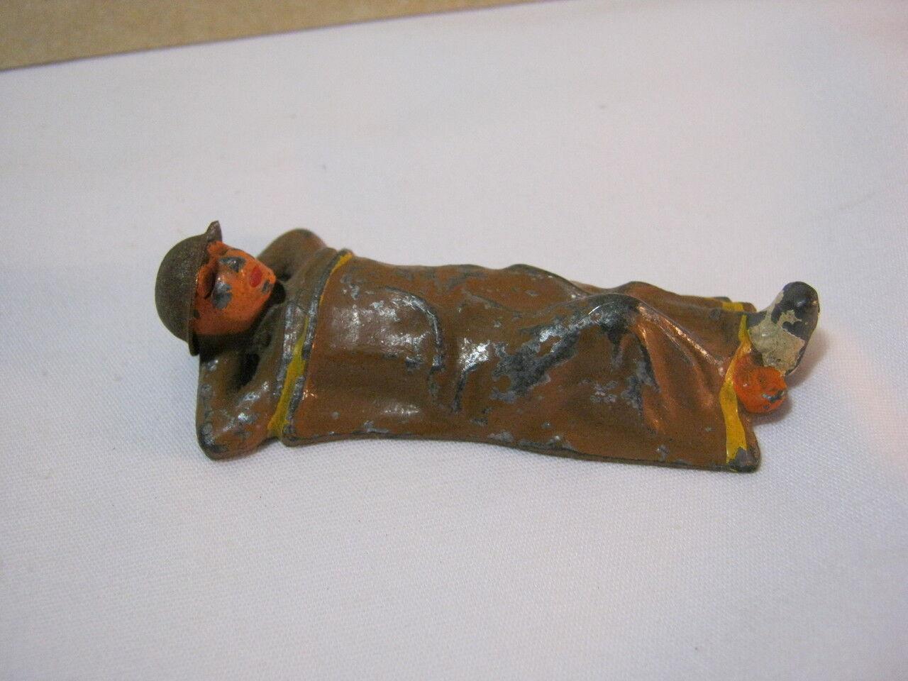Die verwundeten  soldaten   verwundeten f  hren vintage - figur 761 t  4c1109