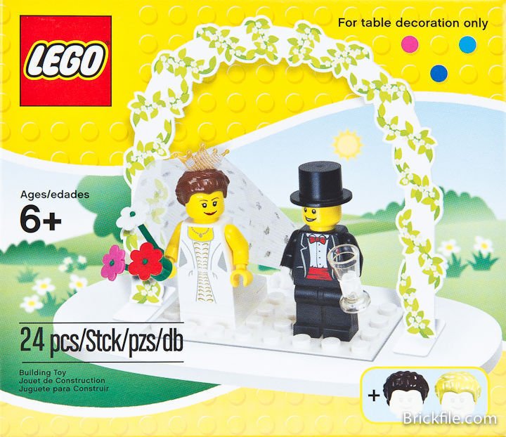 LEGO 853340 Minifigure Wedding Favour Set - NEW, Sealed