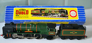 Hornby-Dublo-West-Country-Dorchester-Locomotive-3-rail-Boxed