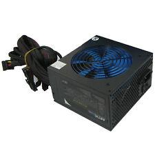 ACE Artic 750W Black ATX Gaming PC 6+2Pin PCIe PSU Power Supply 120mm Blue