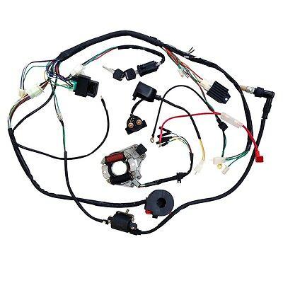 chinese pit bike wiring diagram 110cc complete electrics dirt pit bike 70cc 110cc 125cc stator  pit bike 70cc 110cc 125cc stator