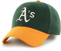Oakland Athletics A's Baseball Hat Mlb Adjustable Fit Team Logo Adult Mens Cap on sale