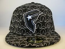 Famous Stars & Straps New Era 59FIFTY Fitted Hat Cap Size 7 1/4 Star Quilted